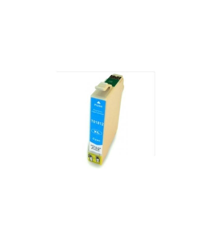 Cart. Epson T1812/T1802 Cyan 15ml (reman