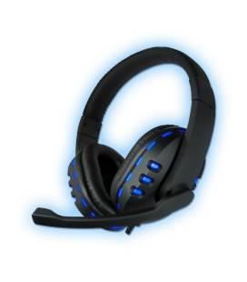 Coolbox Auriculares DeepGaming Deepred G2 con Microfono Negro/Azul
