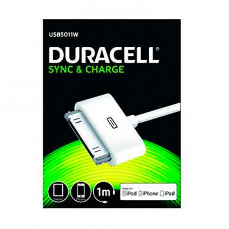 CABLE DURACELL USB - APPLE - Imagen 1
