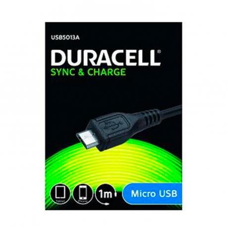 CABLE DURACELL USB MACHO A - Imagen 1