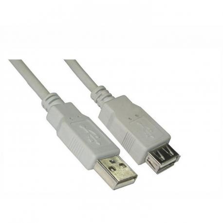 CABLE ALARGADOR USB NANOCABLE 10.01.0204 - Imagen 1