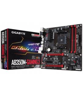 Gigabyte AB350M-Gaming 3. Socket AM4. Micro-ATX.