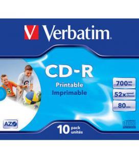 CD-ROM IMPRIMIBLES VERBATIM SUPERAZO WIDE