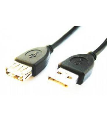 Gembird 1.8m USB 2.0 A M/FM 1.8m USB A USB A Negro - Imagen 1
