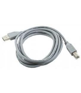 Gembird 1.8m USB 2.0 A/B M 1.8m USB A USB B Gris - Imagen 1