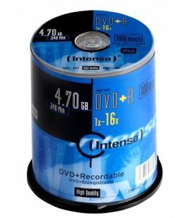 Intenso DVD+R 4,7 GB 16x 4.7GB DVD+R 100pieza(s)