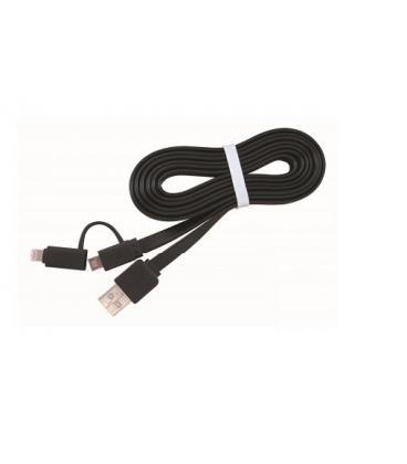 Gembird CC-USB2-AMLM2-1M cable USB - Imagen 1