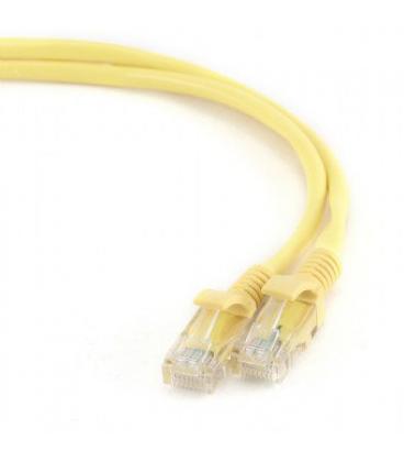 Gembird PP12-1M/Y 1m Cat5e U/UTP (UTP) Amarillo cable de red - Imagen 1