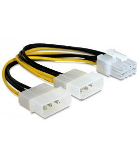 Gembird CC-PSU-81 Interno 0.15m PCI-E (8-pin) 2 x Molex (3-pin) Negro, Color blanco, Amarillo cable de transmisión - Imagen 1
