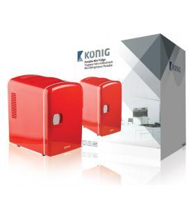 König KN-MF10 Independiente 4L Rojo frigorífico