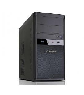 CoolBox COO-PCM55-1 Torre 500W Negro carcasa de ordenador