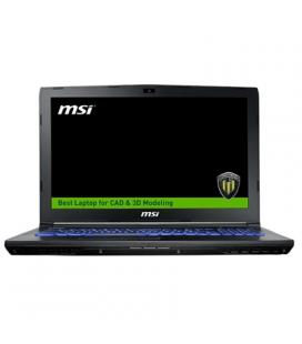 """MSI WE62-1839XES i7-7700 16 256+1TB M2200 DOS 15"""" - Imagen 1"""