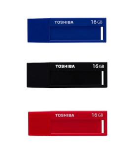 PENDRIVE 16GB USB3.0 TOSHIBA DAICHI PACK 3 UDS - Imagen 1