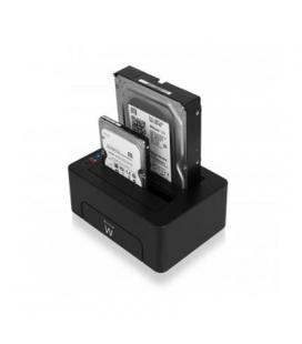 "Ewent EW7014 Dock Station Dual 2.5""-3.5"" USB 3.1 - Imagen 1"
