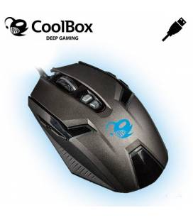 Coolbox Ratón Gaming Óptico Deep Speed 4000DPI