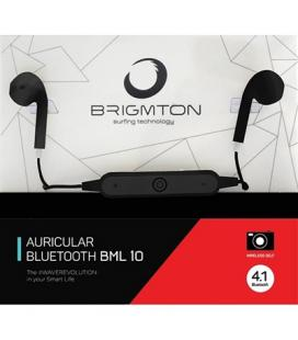 Brigmton Auricular+Mic BML-10-N Bluetooth Negro