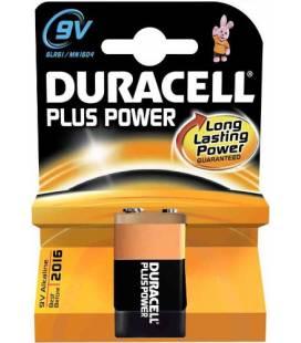 DURACELL pila alcalina Plus Power LR61 9V