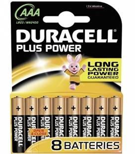 DURACELL PLUS POWER PILA ALCALINA AAA LR03 BLISTER - Imagen 1