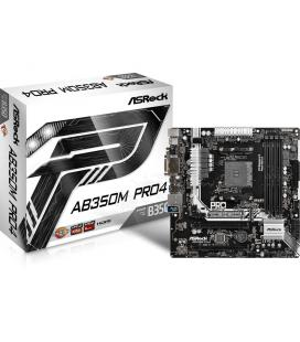 Asrock AB350M Pro4 AMD B350 Socket AM4 Micro ATX placa base
