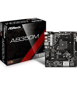 Asrock AB350M AMD B350 Socket AM4 Micro ATX placa base
