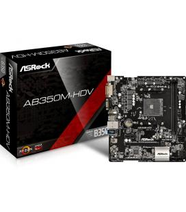 Asrock AB350M-HDV AMD B350 Socket AM4 Micro ATX placa base