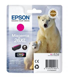 CARTUCHO EPSON 26XL 9.7ML MAGENTA