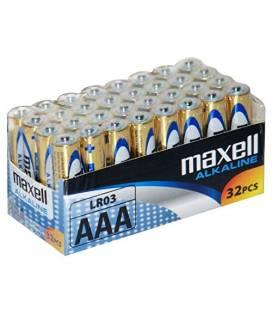 Maxell PILA ALCALINA AAA LR03 PACK*32 PILAS - Imagen 1
