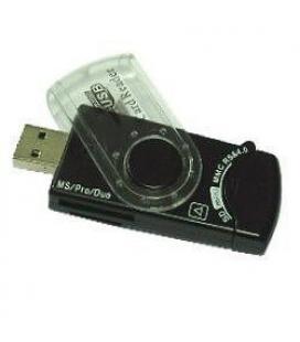 Gembird FD2-ALLIN1-C1 USB 2.0 lector de tarjeta - Imagen 1