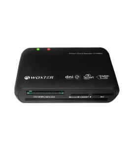 Woxter PE26-025 USB 2.0 Negro lector de tarjeta - Imagen 1