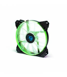Coolbox Ventilador LED Deep Wind 120mm Negro/Verde