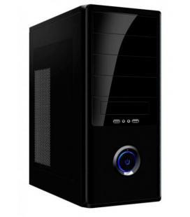Caja ATX Negra 3.0 + Fuente 500w Kloner