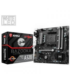 MSI Placa Base A320M BAZOOKA mATX AM4