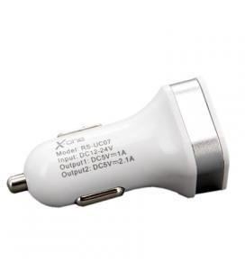 X-One Cargador Coche USB 2.1A + Cable LightningMFI - Imagen 1
