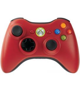 Mando Inalambrico XBOX360 Rojo