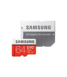Samsung EVO Plus 64GB MicroSDXC Clase 10 memoria flash - Imagen 1