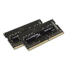 MEMORIA KINGSTON HYPERX IMPACT BLACK SODIMM DDR4 16GB KIT2 2400MHz CL14