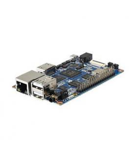 placa Banana Pi 64 QuadCore64bits con 2Gb - Lan 1Gb - Imagen 1