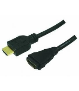 CABLE HDMI-M A HDMI-H EXTENSOR 5M LOGILINK +ETHERN