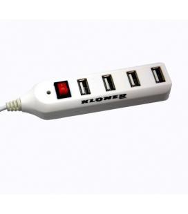 HUB 4 PUERTOS USB 2.0 KL-TECH