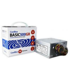 CoolBox Basic 500GR 300W ATX Metálico unidad de fuente de alimentación