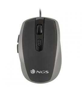 NGS Ratón óptico TickSilver USB Plata