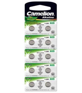 Pila Botón Alcalina LR45 1.5V 0% Mercurio (10 pcs) Camelion