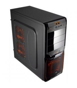 Aerocool Caja Semitorre V3X Advan.Black Orange 3.0