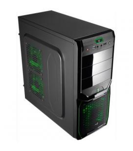 Aerocool Caja Semitorre V3X Advan.Black Green 3.0