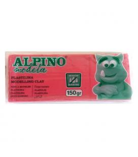 Plastilina 150 gramos rosa sin gluten - alpino modela modelling clay