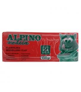 Plastilina 150 gramos roja sin gluten - alpino modela modelling clay