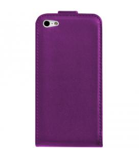 Funda ideus de piel lila para Apple iPhone 4S