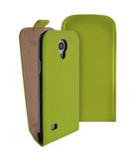 Funda de piel ideus para Samsung Galaxy S4 mini verde