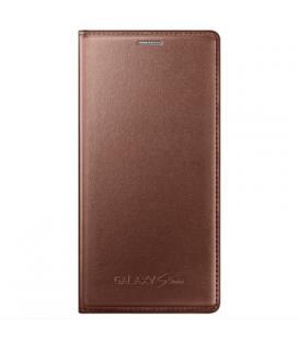 Funda Samsung EF-FG800BF marrón para Galaxy S5 mini