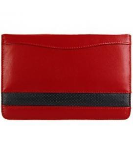 Funda de piel Samsung ET-GTABRL roja para Galaxy Tab